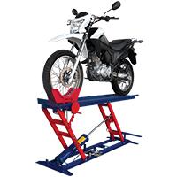 Rampa pneumática para Moto 250 kgEMCP250