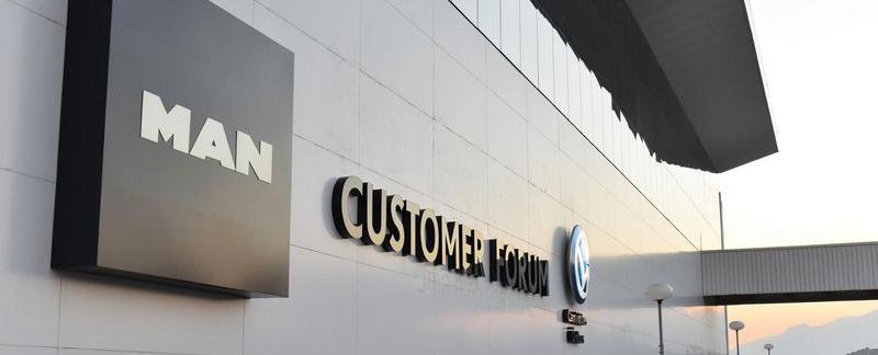 Quando será inaugurado Customer Forum da Volkswagen e da MAN?