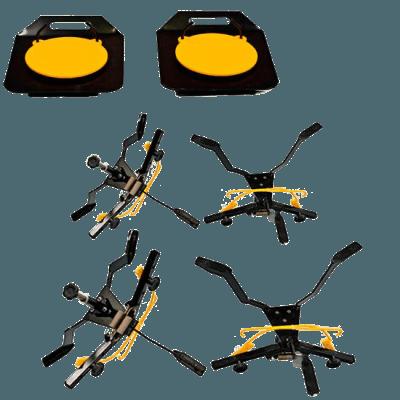 alinhador de rodas 2e4rodas pratos e garras