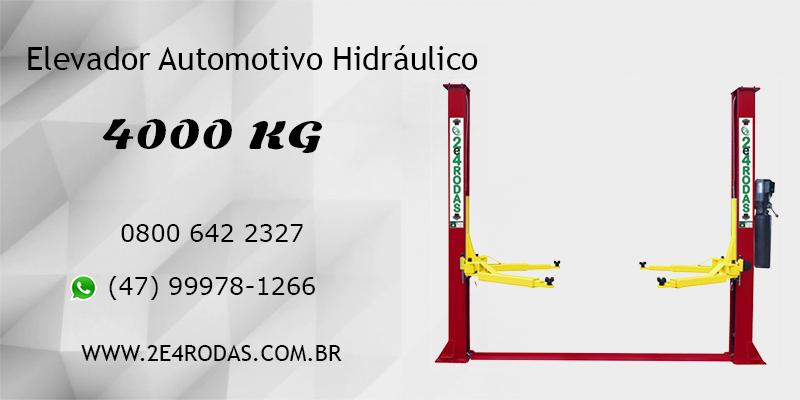 Elevador Automotivo Hidráulico de 4000 kg