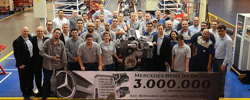 Por que a Mercedes-Benz do Brasil está comemorando