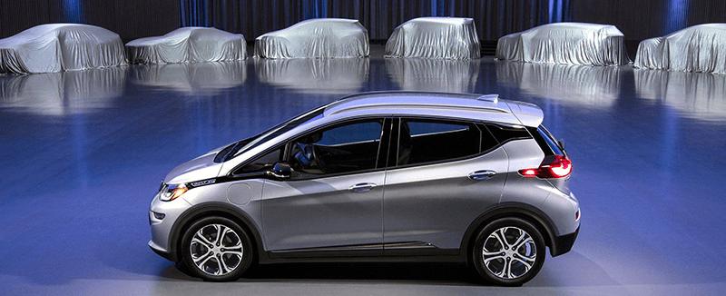 Quais serão os carros elétricos que GM que iram produzir até 2023?