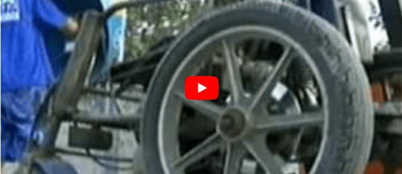 Quem é o piloto cadeirante catarinense ?