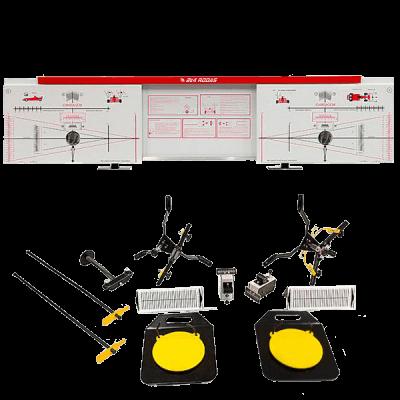 alinhador a laser 2e4rodas painel vermelho acessórios