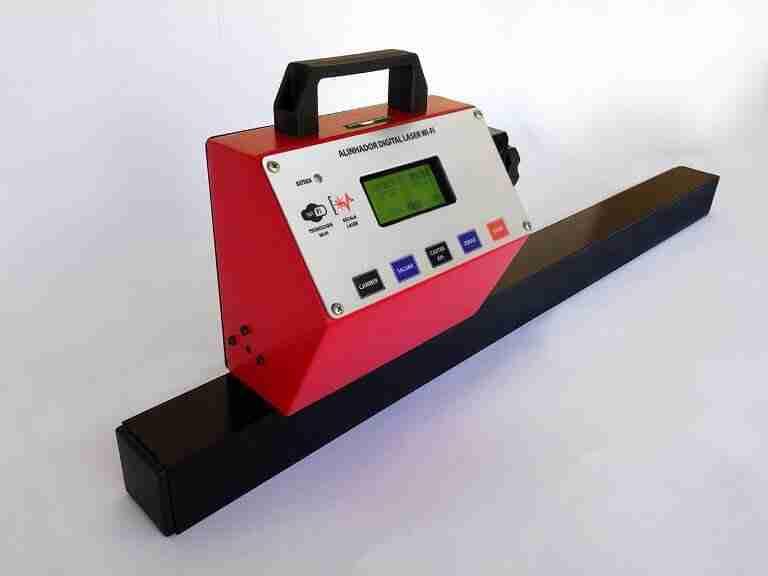alinhador deq 550 digital truck canhão de laser vermelho