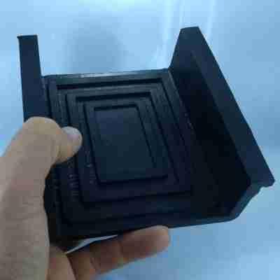 sapata quadrada U boxtop engecass