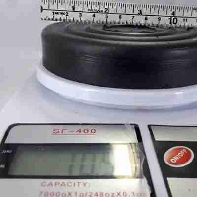 sapata borracha farimaq peso diametro