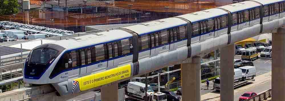 O monotrilho é melhor ou pior que o metrô?