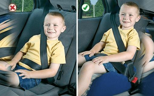 Como transportar seus filhos com segurança?