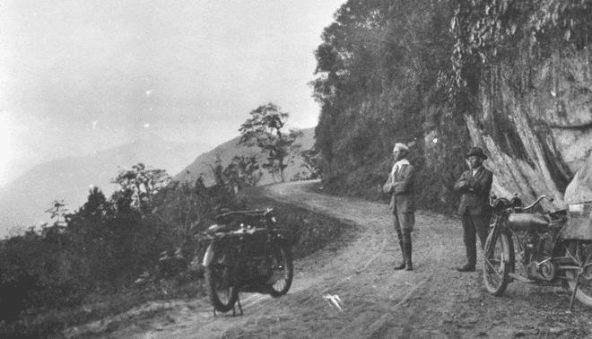 A primeira viagem registrada de moto do Brasil